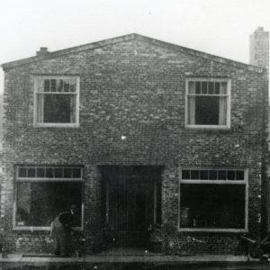 Pegasus Coffee House History - Anderson Hardware Store in 1937 on Bainbridge Island