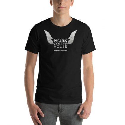 Pegasus Coffee House Wings T-Shirt - Black