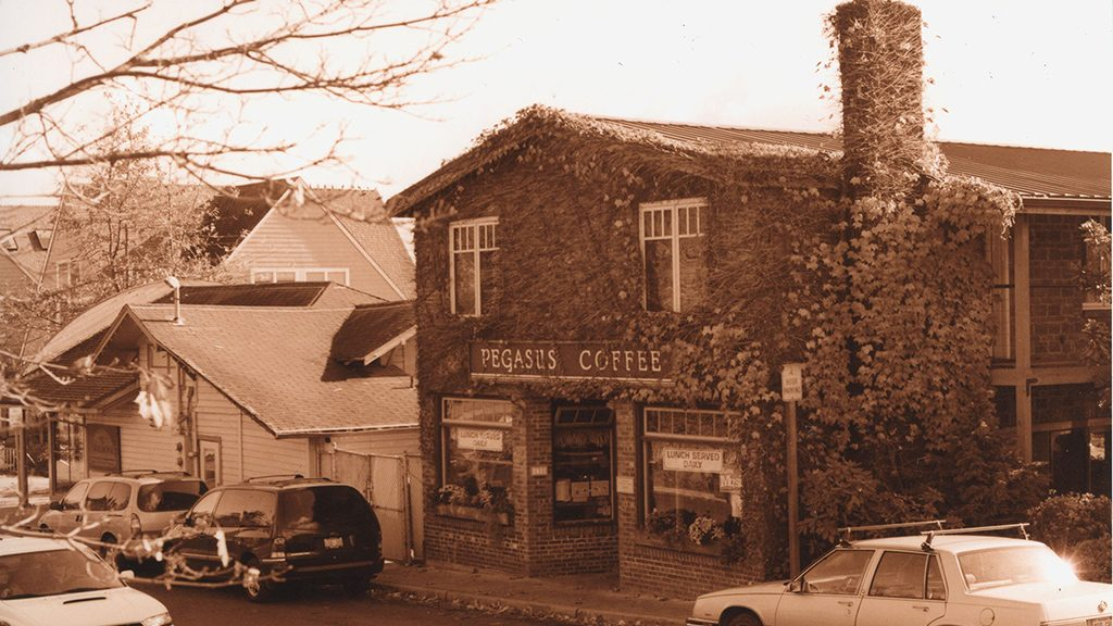 Pegasus Coffee House - History - Bainbridge Island