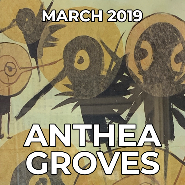 Anthea Groves - Pegasus Artist of the Month - March 2019