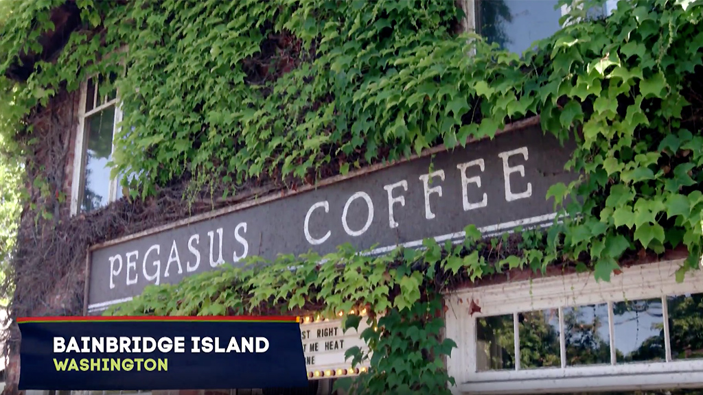 Pegasus Coffee House - HGTV - Island Life s15e01