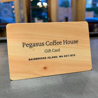 Pegasus Coffee House Gift Card