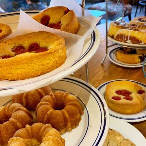 Fresh pastries - Pegasus Coffee House