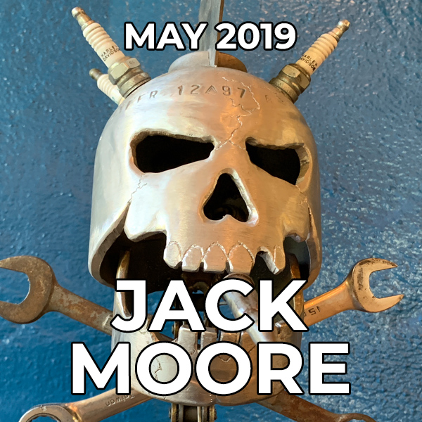 Jack Moore - Pegasus Artist of the Month - May 2019