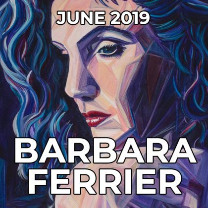 Barbara Ferrier - Pegasus Artist of the Month - June 2019