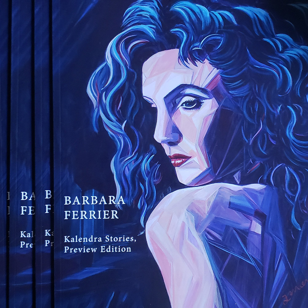 Barbara Ferrier - Kalendra Stories Book - Preview Edition