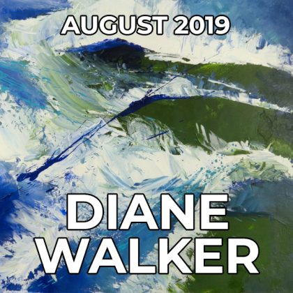 Diane Walker - Pegasus Artist of the Month - August 2019