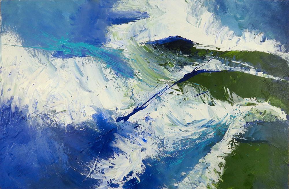 Diane Walker - Splash On The Rocks