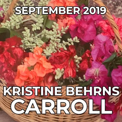 Kristine Behrns Carroll - Pegasus Artist of the Month - September 2019
