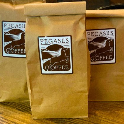 Pegasus Coffee Selections Beans Menu