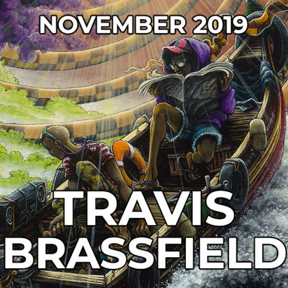 Travis Brassfield - Pegasus Artist of the Month - November 2019
