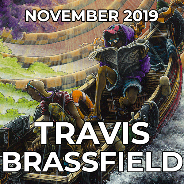 Travis Brassfield - Pegasus Artist of the Month - November 2019