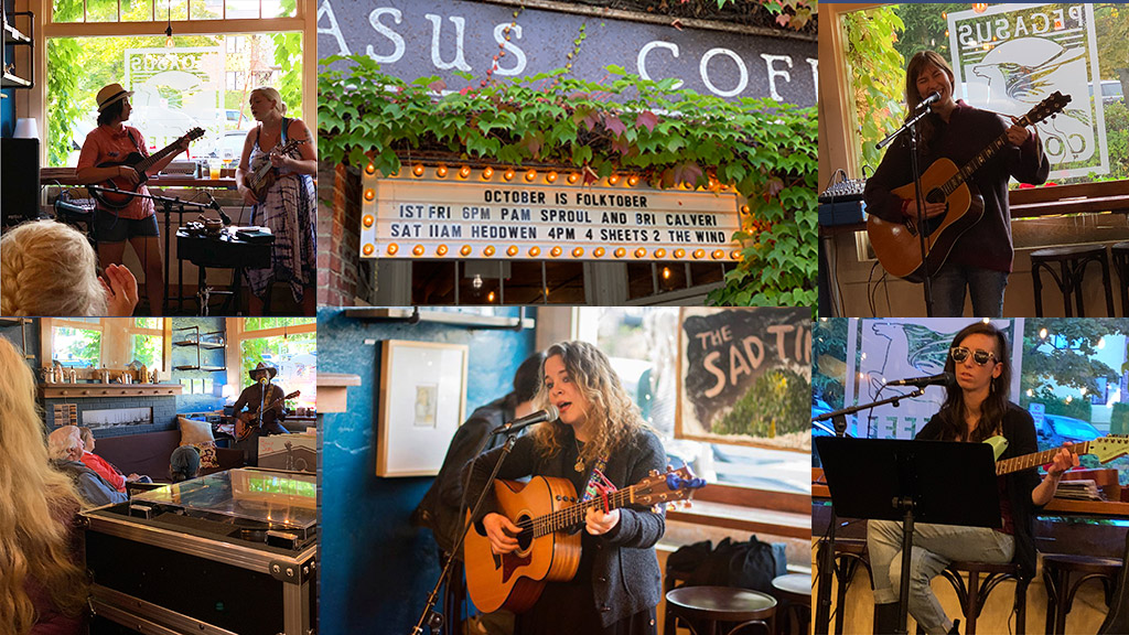 Pegasus Presents - A Tradition of Live Music at the Coffee House