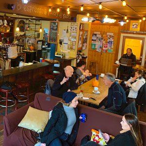 pegasus coffee house - interior