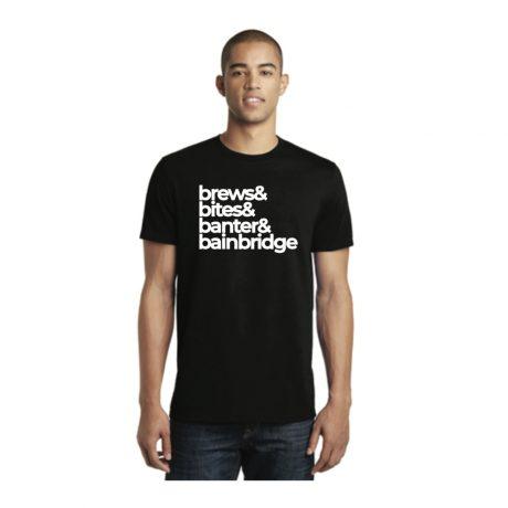 Pegasus Coffee House – beers brews banter bainbridge – T-Shirt Short Sleeve